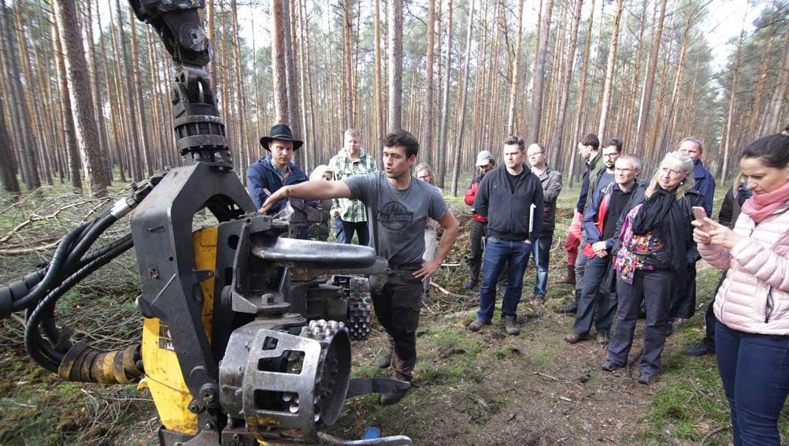 Waldbauernschule Exkursion
