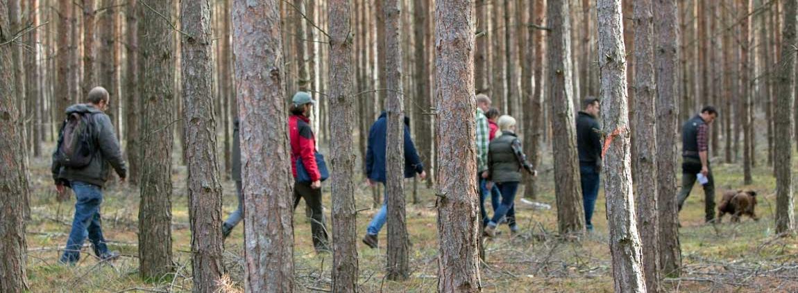 Exkursion Waldbauernschule